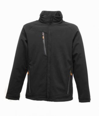 Regatta Apex Softshell Jacket Black 3XL (RG164 BLK 3XL)