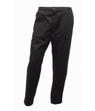 Regatta Lined Action Trousers Black 44/L (RG233 BLK 44/L)