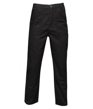 Regatta Original Action Trousers Black 46/L (RG293 BLK 46/L)