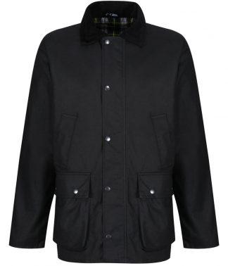 Regatta Banbury Wax Jacket Black 3XL (RG340 BLK 3XL)