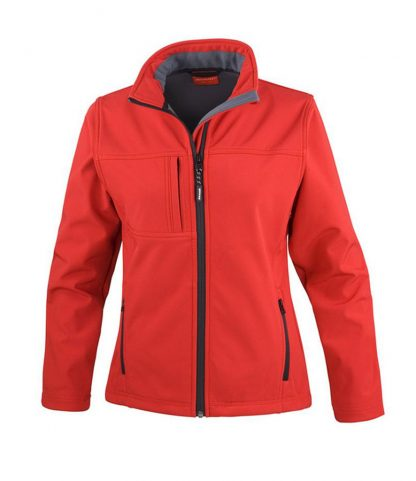 Result Lds Classic Softshell Jkt Red XXL18 (RS121F RED XXL18)