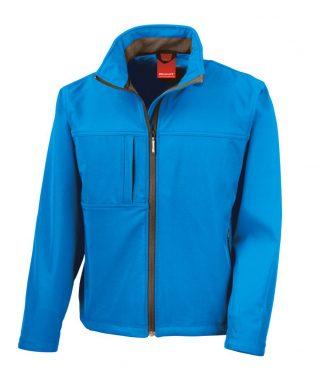 Result Classic Softshell Jacket Azure XXL (RS121M AZR XXL)
