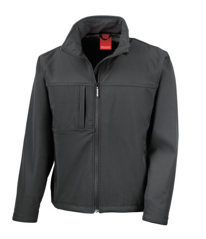 Result Classic Softshell Jacket Black 4XL (RS121M BLK 4XL)