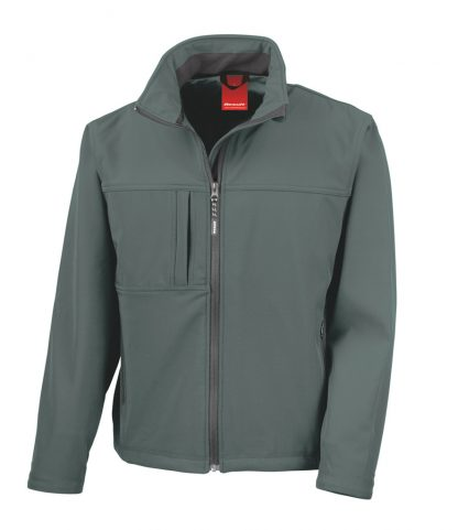 Result Classic Softshell Jacket Grey 3XL (RS121M GRE 3XL)