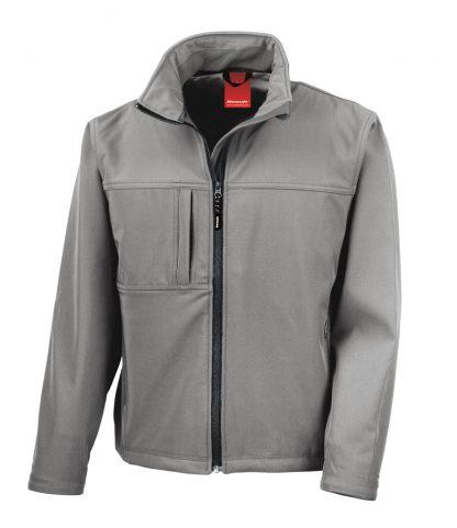Result Classic Softshell Jacket Workguard grey 4XL (RS121M WGY 4XL)