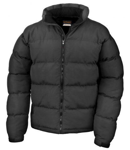 Result Urban Holkham Jacket Black 3XL (RS181M BLK 3XL)