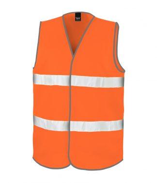 Result Core Hi-Viz Safety Vest Fl. orange XXL (RS200 FLO XXL)