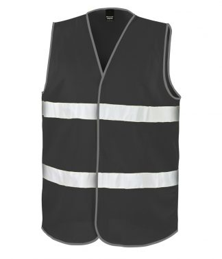 Result Core Enhanced Viz Vest Black XXL (RS200E BLK XXL)