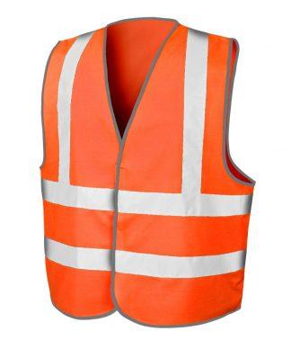 Result Core Motorway Vest Fl. orange XXL/3XL (RS201M FLO XXL/3XL)
