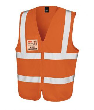 Result Core Zip Safety Tabard Fl. orange XXL/3XL (RS202 FLO XXL/3XL)