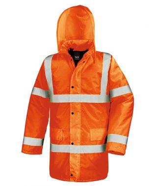 Result Core Motorway Coat Fl. orange 3XL (RS218 FLO 3XL)