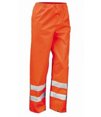 Result Safeguard High Viz Trousers Orange XXL (RS22 ORA XXL)