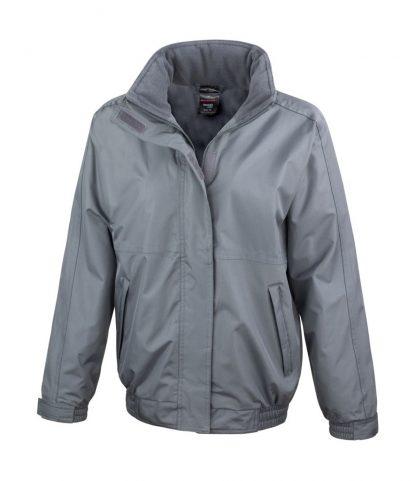 Result Core Ladies Channel Jacket Grey XXL/18 (RS221F GRE XXL/18)