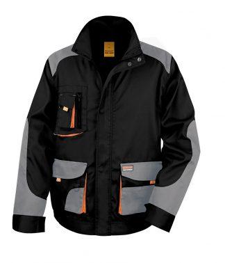 Result W-G Lite Jacket Black/grey 4XL (RS316 BK/GY 4XL)
