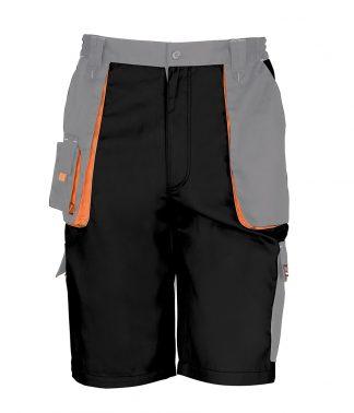 Result W-G Lite Shorts Black/grey 4XL (RS319 BK/GY 4XL)