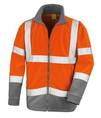 Result SafeGuard Microfleece Fl. orange 4XL (RS329 FLO 4XL)