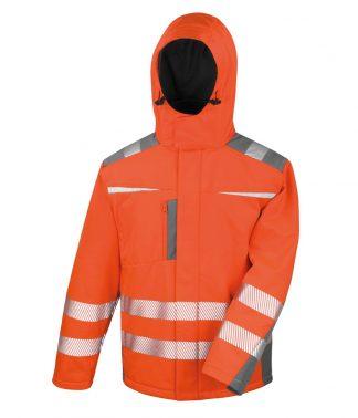 Result Safeguard Dynamic Softshell Jkt Fl. orange 4XL (RS331 FLO 4XL)
