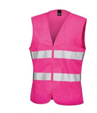 Result Core Ladies Hi Vis Tabard Fl. pink XXL/18 (RS334F FLP XXL/18)
