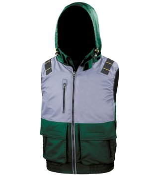 Result W-G X-Over Gilet Bottle/grey 4XL (RS335 BO/GY 4XL)