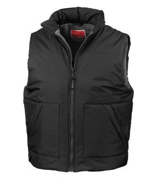 Result Fleece Lined Bodywarmer Black XXL (RS44 BLK XXL)