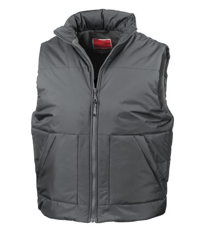 Result Fleece Lined Bodywarmer Dark Grey XXL (RS44 DGY XXL)