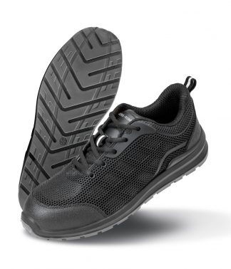Result W-G All Black Safety Trainers Black 12 (RS456 BLK 12)