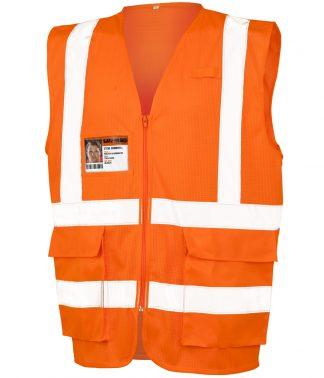 Result Executive Cool Mesh Safety Vest Fl. orange 3XL (RS479 FLO 3XL)