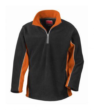 Result Tech3 Sport Fleece Black/orange XXL (RS86 BK/OR XXL)