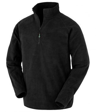 Res. Recycled Micro Fleece Top Black 3XL (RS905 BLK 3XL)