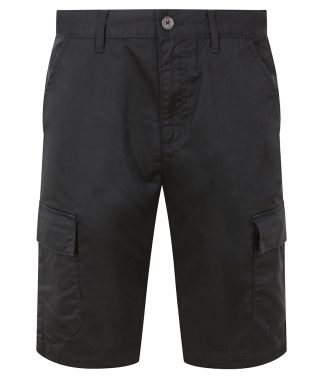 PRO RTX Pro Cargo Shorts Black 4XL (RX605 BLK 4XL)