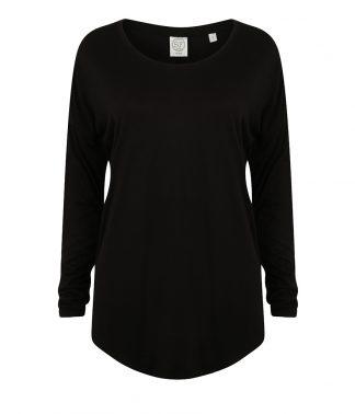 SF Ladies Slounge Top Black XL (SK263 BLK XL)