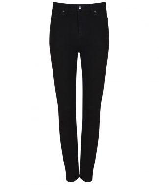 SF Ladies Skinni Jeans Black 18/L (SK600 BLK 18/L)