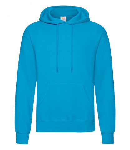 Fruit Loom Hooded Sweatshirt Azure XXL (SS14 AZR XXL)