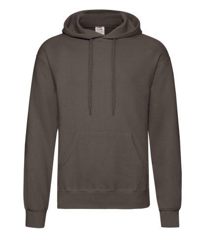 Fruit Loom Hooded Sweatshirt Chocolate XXL (SS14 CHO XXL)