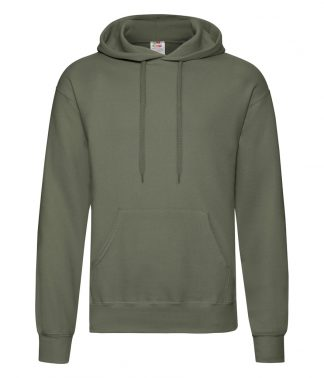 Fruit Loom Hooded Sweatshirt Classic Olive 3XL (SS14 COL 3XL)