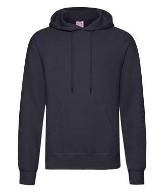 Fruit Loom Hooded Sweatshirt Deep Navy 5XL (SS14 DNA 5XL)