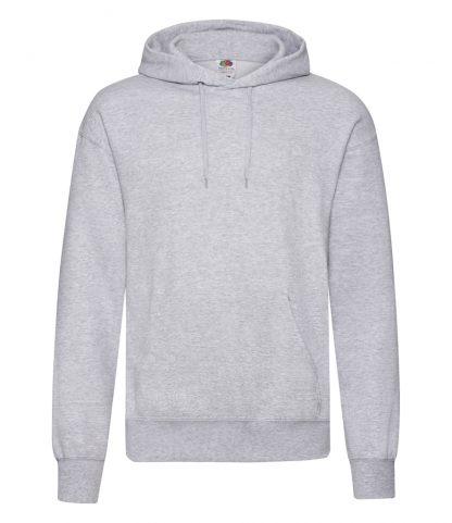 Fruit Loom Hooded Sweatshirt Heather grey 5XL (SS14 HEA 5XL)