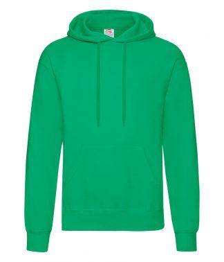 Fruit Loom Hooded Sweatshirt Kelly XXL (SS14 KEL XXL)