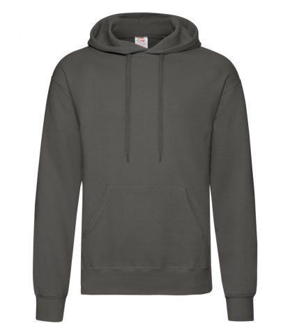 Fruit Loom Hooded Sweatshirt Light Graphite 3XL (SS14 LGP 3XL)
