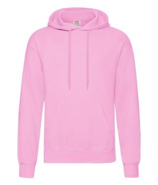 Fruit Loom Hooded Sweatshirt Light Pink XXL (SS14 LPI XXL)