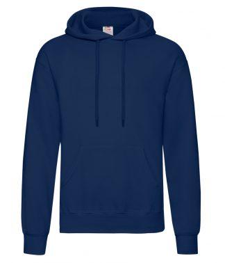 Fruit Loom Hooded Sweatshirt Navy 4XL (SS14 NAV 4XL)