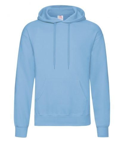 Fruit Loom Hooded Sweatshirt Sky blue XXL (SS14 SKY XXL)