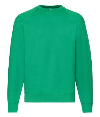 Fruit Loom Raglan Sweatshirt Kelly XXL (SS8 KEL XXL)