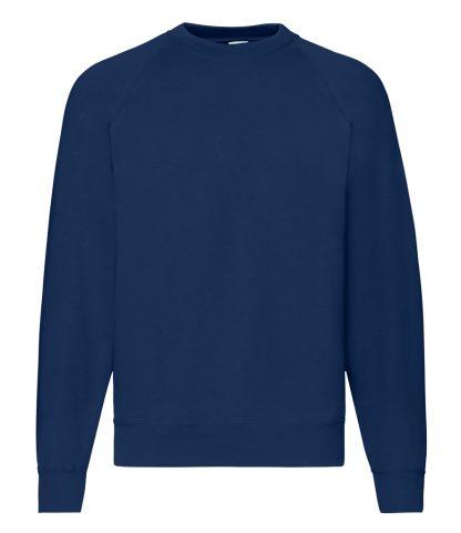 Fruit Loom Raglan Sweatshirt Navy 4XL (SS8 NAV 4XL)
