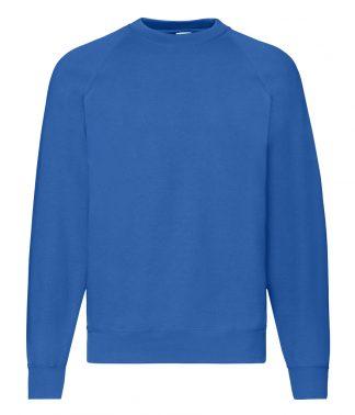 Fruit Loom Raglan Sweatshirt Royal XXL (SS8 ROY XXL)