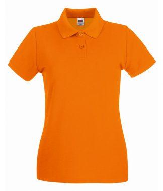 Fruit Loom Ladies Premium Polo Orange XXL (SS89 ORA XXL)