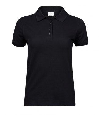 Tee Jays Ladies Heavy Polo Black 3XL (T1401 BLK 3XL)