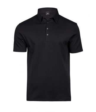 Tee Jays Pima Cotton Polo Black 3XL (T1440 BLK 3XL)