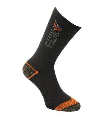 TS802 - Tactical Threads 3 Pack Work Socks - Black