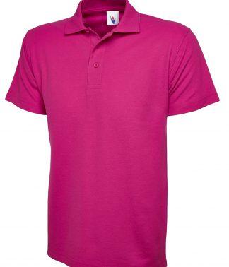 Uneek Classic Poloshirt - Hot Pink